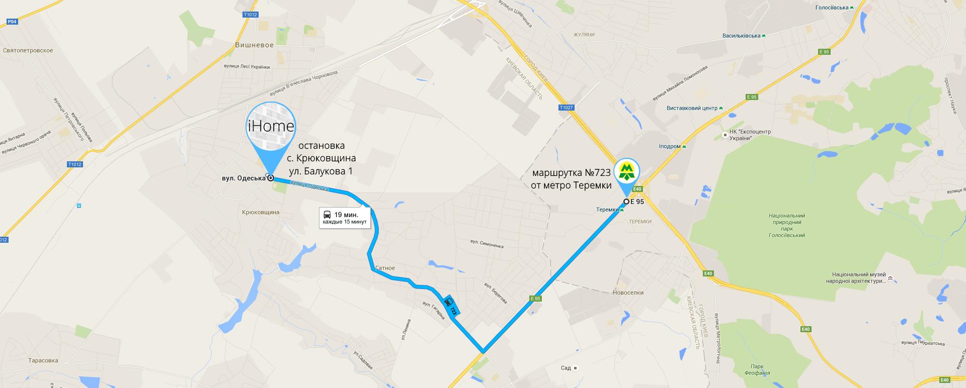 карта ЖК iHome